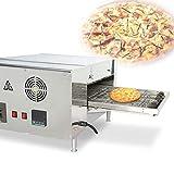 MXBAOHENG Crawler Pizzaofen Kette Pizzaofen Elektrischer Gewerbe Pizzaofen Digitalanzeige Automatischer Backofenofen