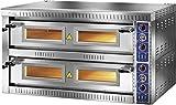 GAM Gastro Pizzaofen SB9+9TOP für 18 Pizzen 135 cm breit 400 Volt ***NEU***
