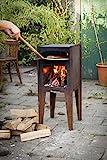 Städler Made Pizzaofen Outdoor Ofen Holzofen Stahl Design Holzofenpizza Backofen Garten